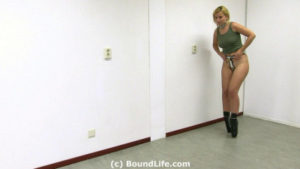 Ballet Boot Training In Ankle Cuffs - Full HD 1080p