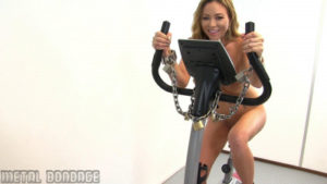 Natalia Forrest On the Dildo Bike - Full HD 1080p