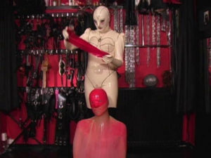 Latex Rubber - Transformation Marissa - Domination HD