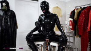 Freaks Inside fetish bondage latex Part Nine